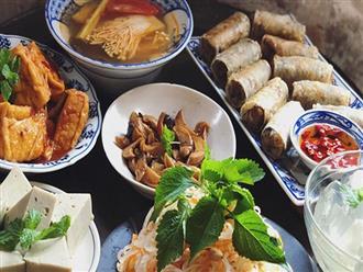 Không cần đồ ăn mặn, mâm cỗ chay ngày Tết vẫn hấp dẫn với những món đặc biệt sau
