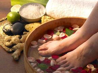 Ngâm chân cực kỳ có lợi cho sức khỏe nhưng đối với những trường hợp đặc biệt này bạn cần phải cẩn trọng hơn