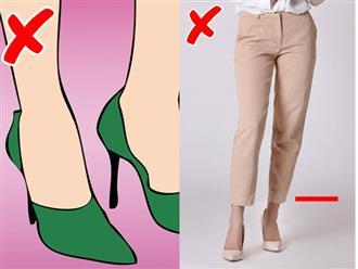 10 'bí kíp' ăn mặc giúp cô nàng 'nấm lùn' tăng thêm vài cm chiều cao, kéo dài đôi chân chỉ trong tích tắc