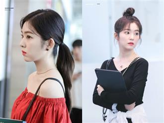 Học mỹ nhân Irene kiểu buộc tóc giúp giảm bớt cái nóng mùa hè, tinh giản mà vẫn xinh xắn, trẻ trung vô cùng