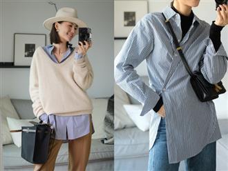 Hô biến chiếc áo sơ mi đơn giản trong tủ đồ thành 6 phong cách khác nhau, chị em tha hồ diện cả tuần