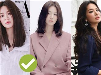 Chỉ nhờ kiểu tóc này mà 'ăn gian' đến 10 tuổi, cả 'đại mỹ nữ' Song Hye Kyo còn phải áp dụng
