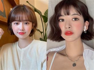 3 kiểu tóc ngắn sinh ra là dành cho khuôn mặt tròn, cứ cắt là xinh đẹp, sang chảnh lên ngay