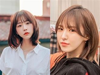 Kiểu tóc ngắn hot nhất năm 2021 khiến phụ nữ Hàn 'đổ đứ đừ', ai sở hữu khuôn mặt tròn cứ cắt là thon gọn, V-line ngay