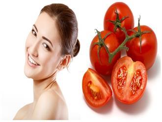Da căng mướt như em bé, mịn màng không tì vết chỉ với vài quả cà chua làm theo cách này