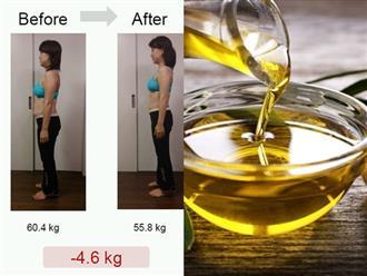 Mỡ thừa bị 'đánh bay', vòng bụng giảm vài centimet nhờ học phụ nữ Nhật trộn dầu ô liu vào món ăn này