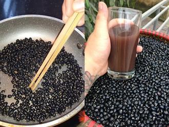 Rang vài nắm đậu đen lấy nước uống mỗi ngày, bụng ngấn mỡ thừa cũng trở nên thon gọn, săn chắc như người mẫu