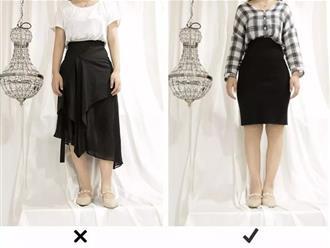 Những kiểu chân váy cho người chân to che được khuyết điểm hiệu quả lại vô cùng 'trendy'