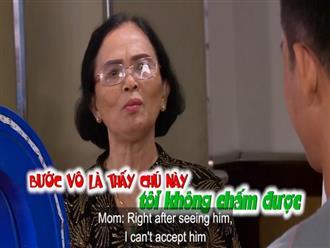 Bà mẹ gây sốc khi thẳng thừng chê đối tượng 'xem mắt' của con gái 35 tuổi trên sóng truyền hình