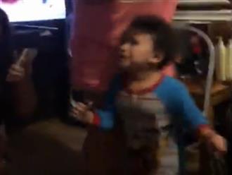 Bị cả gia đình troll, cậu bé khóc hết nước mắt vì tưởng đã tàng hình