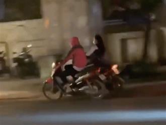Cãi nhau với người yêu, nữ sinh lái xe điện đánh võng trên đường và cái kết không ai ngờ tới