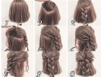 Những kiểu tóc tết đẹp nhất cho các nàng tiểu thư