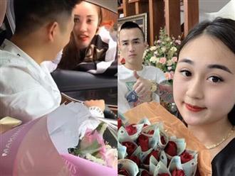 Chồng nhà người ta tặng quà Valentine cho vợ bằng xe sang 3 tỷ, bó hoa hồng toàn tờ 500 ngàn đồng