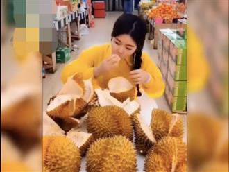 Cô gái thử thách ăn hàng chục trái sầu riêng cùng lúc, ai nấy đều trố mắt khi nhìn thấy kết quả