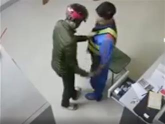 Dùng dao uy hiếp nhân viên cây xăng ngày cận Tết, tên cướp nhận cái kết đắng