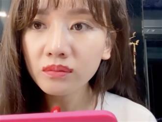 Hariwon bắt trend quái dị thoa môi sò chuẩn bị đón Tết khiến dân mạng cười bò