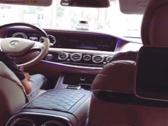 Hé lộ hình ảnh bên trong ô tô tiền tỷ của 'Nữ hoàng nội y' Ngọc Trinh