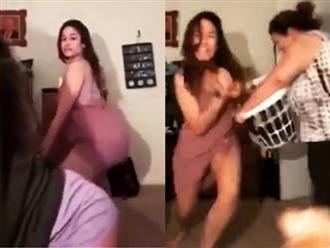 Thiếu nữ nhảy sexy để quay video và cái kết đắng khi bị mẹ phát hiện
