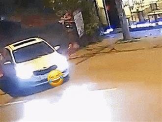 Nam thanh niên lái xe máy tốc độ 'bàn thờ' tông vào ô tô như tự sát