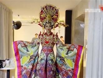 Võ Hoàng Yến 'đi đường quyền' với bộ đồ 45 kg, liên tục 'khẩu nghiệp' hội trợ lý đẹp trai