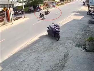 Bi hài cảnh xe không người lái lao vào nhà dân sau va chạm giao thông