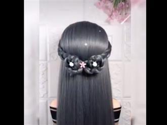 Chỉ vài bước đơn giản, chị em có mái tóc đẹp như tiên tử khiến ai cũng phải ngước nhìn