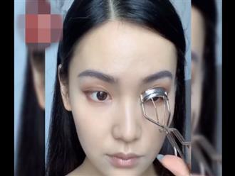 Cô gái bình thường hóa hot girl khiến chị em thảng thốt 'không biết make up đúng là có lỗi với bản thân'