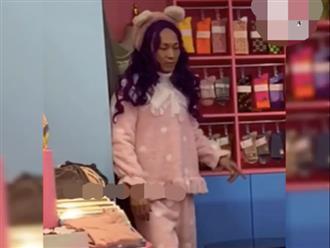 Nam thanh niên vào tiệm mua đồ ngủ, bước ra từ phòng thay đồ khiến nhân viên cười xỉu ngang xỉu dọc