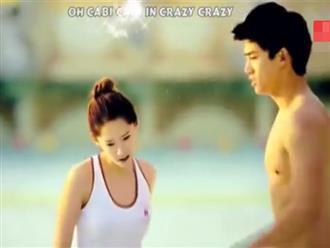 'Nóng mắt' với cảnh dàn mỹ nam khoe cơ bụng, mỹ nữ mặt quần áo ôm trọn body tại bãi biển
