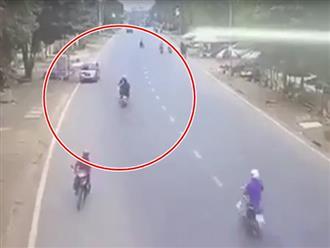 Thanh niên chạy xe tốc độ 'bàn thờ' còn lấn làn, tông chết người đàn ông đi xe máy