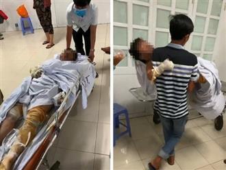 Xót xa cảnh bé trai 3 tuổi băng kín người sau vụ đốt nhà vì mâu thuẫn, liên tục gọi bà vì đau