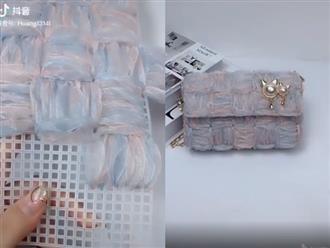 Mẹo tái chế đồ bỏ đi thành quần áo, túi xách cực đẹp khiến dân tình mê mẩn