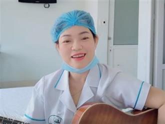 Xúc động clip nữ nhân viên y tế hát lạc quan giữa tâm dịch Covid-19: 'Hẹn ngày về khi dịch bệnh xua tan'