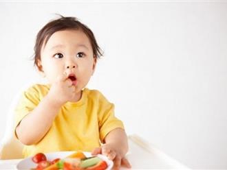 Trẻ 9 tháng biếng ăn thì phải làm sao?