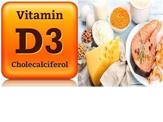 Bạn đã biết Vitamin D3 có trong thực phẩm nào và cách bổ sung hiệu quả nhất?