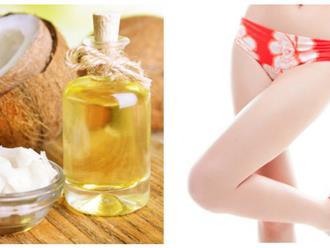 Bộ 3 cách làm hồng vùng kín bằng dầu dừa siêu đơn giản