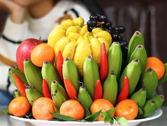 Các loại trái cây chưng tết mang lại may mắn cho gia chủ trong năm mới