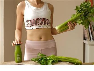 Cách làm nước ép cần tây giúp đẹp dáng sáng da, detox hiệu quả nhanh chóng