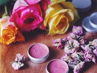 Cách làm son dưỡng môi tại nhà bằng hoa hồng vừa đẹp vừa an toàn