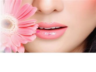 Cách làm môi nhợt nhạt trở nên hồng hào đơn giản tại nhà