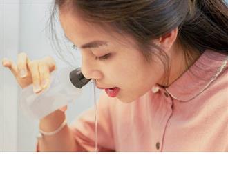 Có nên rửa mũi bằng nước muối sinh lý thường xuyên?