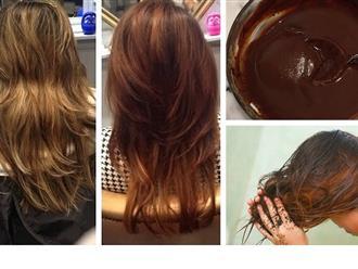 3 cách tự nhuộm tóc nâu hạt dẻ tự nhiên tại nhà đẹp không thua gì ngoài tiệm