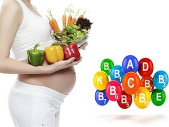 Điểm danh 3 loại vitamin tổng hợp tốt cho bà bầu nên dùng