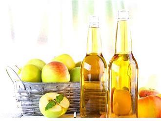 Giấm táo có tác dụng gì đối với sức khỏe và sắc đẹp?