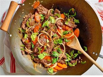 Hướng dẫn 2 cách làm món thịt bò xào cần tây chuẩn vị nhất