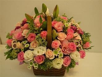 Hướng dẫn cách cắm hoa hồng và thuyết trình ngày 20/11 đơn giản mà độc đáo