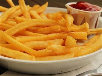 Hướng dẫn cách làm các món ăn vặt từ khoai tây vừa đơn giản vừa thơm ngon