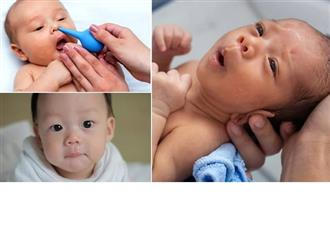 Hướng dẫn cách lấy đờm cho trẻ sơ sinh đơn giản, dễ làm mẹ nên biết