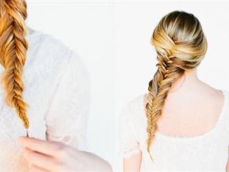 2 cách tự tết tóc xương cá cực đẹp giúp nàng thêm duyên dáng