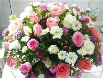 Cách cắm hoa cưới để bàn đẹp tự nhiên thêm ấn tượng trong ngày đặc biệt